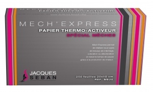 Papier mèches thermo activateur Mech'Express JACQUES SEBAN
