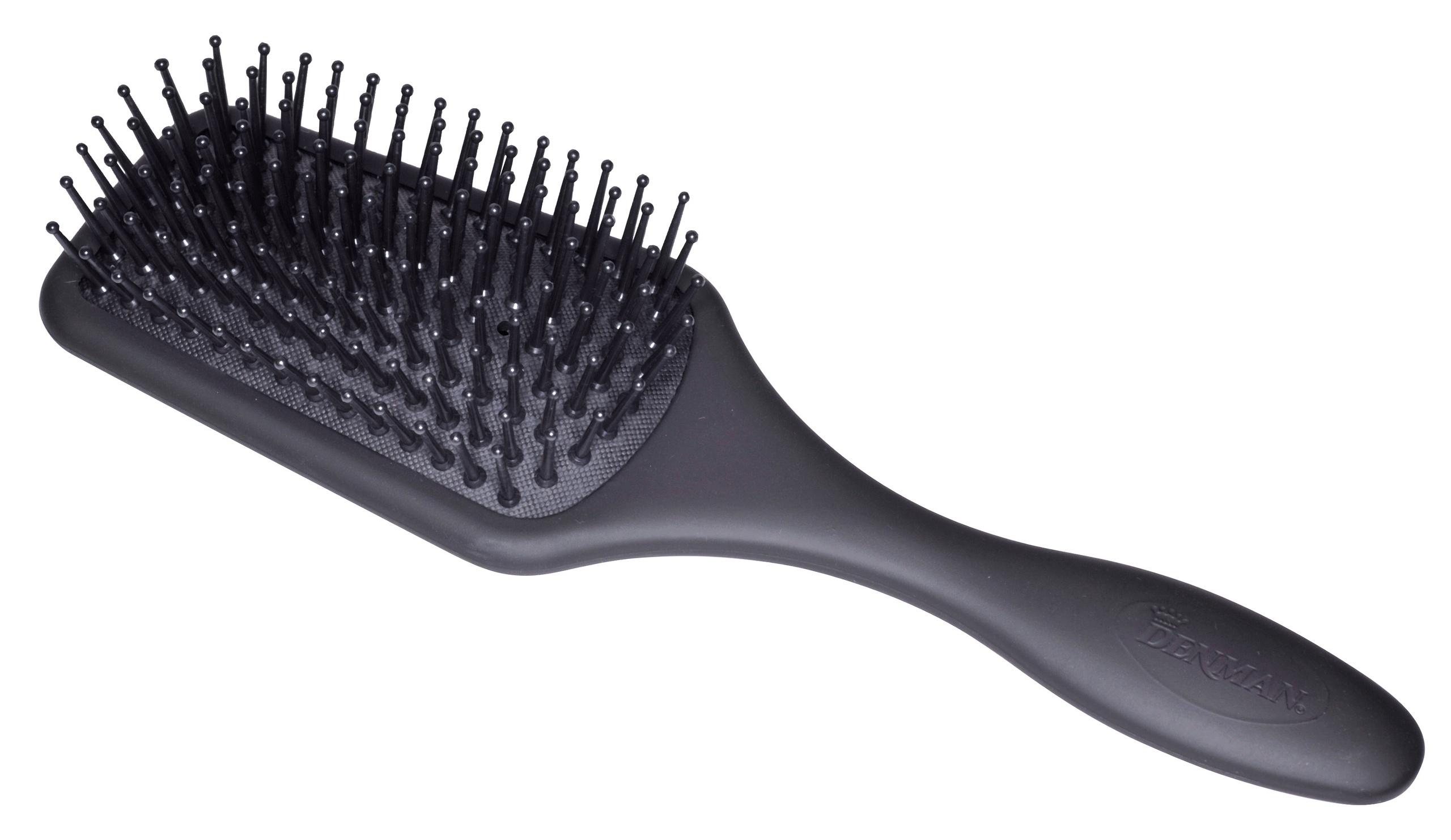 brosse cheveux professionnelle plate carr e picots petit mod le denman. Black Bedroom Furniture Sets. Home Design Ideas