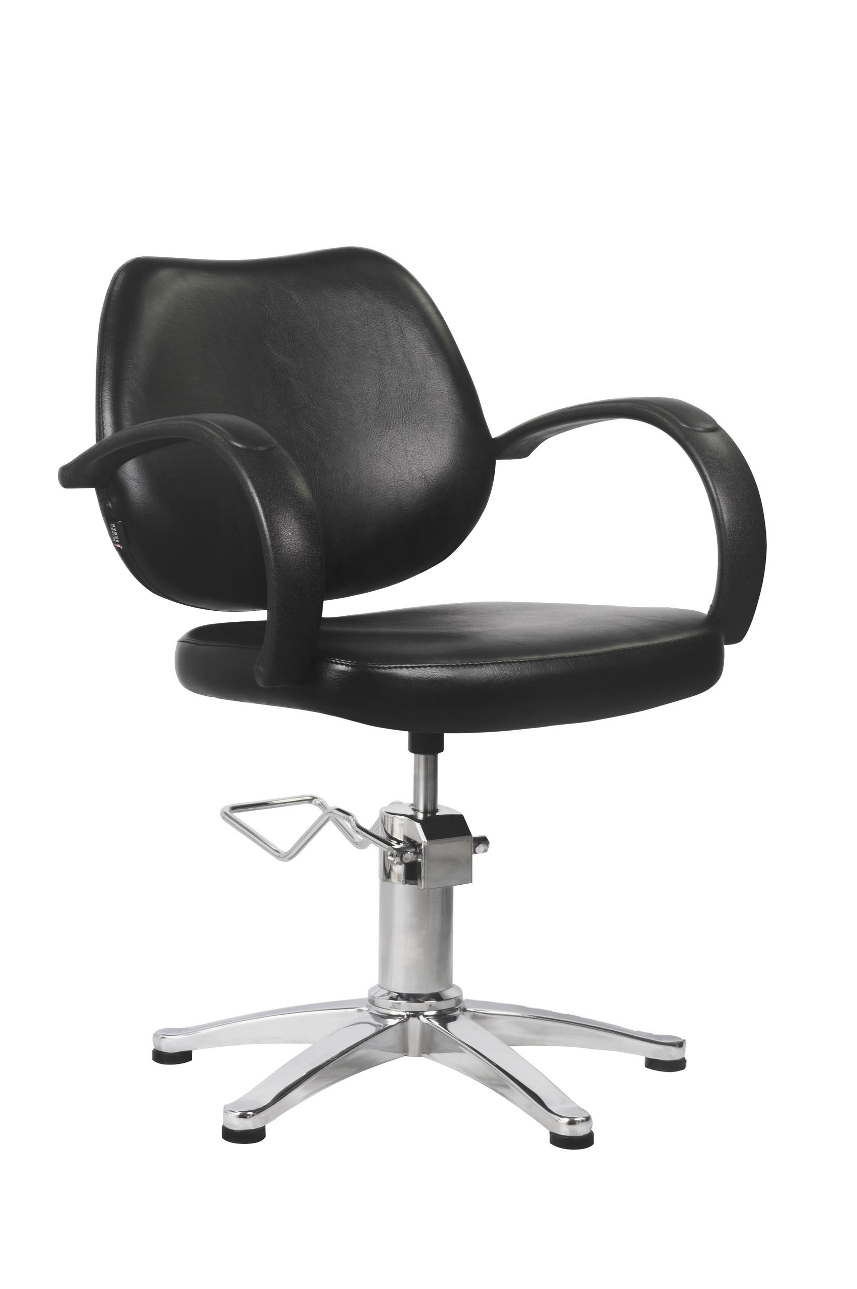 Fauteuil de coiffure seattle jacques seban noir fy07 jacques seban - Fauteuil de coiffeur ...