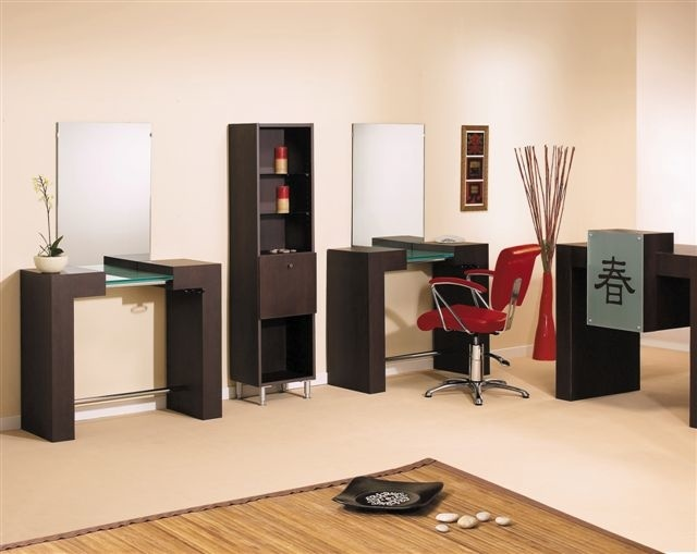 meuble de caisse salon de coiffure shogun jacques seban. Black Bedroom Furniture Sets. Home Design Ideas
